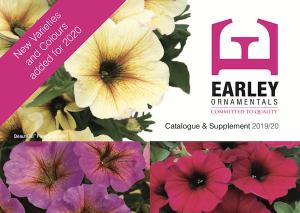 Bedding Catalogue Earley Ornamentals